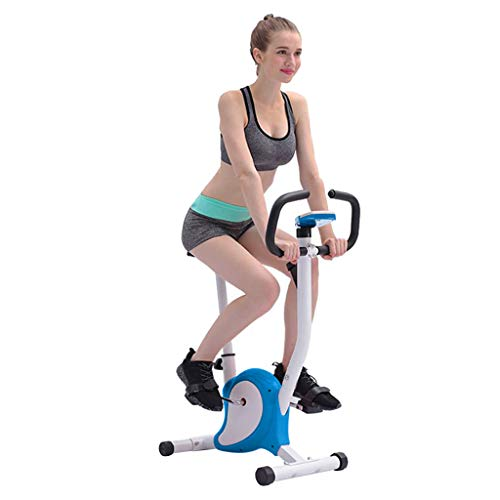 Printasaurus Indoor Cycling Bike Trainer Fitness Fixed Machine, Adjustable Magnetic Resistance Level,7 Gears Seat Position Adjust(25-32IN), with LED Display
