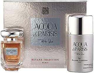 Parisis Perfumes Acqua Di Parisis Porto Fino Eau De Parfume Spray for Women 2 Pieces Set, 350 ml