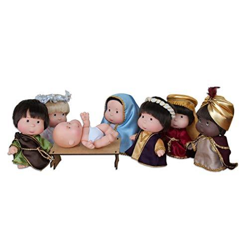Pitukas Nacimiento muñecos