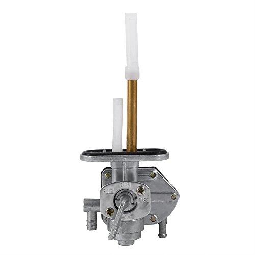 Llave de purga de combustible Válvula de interruptor de tanque Válvula de encendido y apagado Interruptor de grifo Válvula de grifo de combustible Conjunto de interruptor de llave de purga Ajuste para
