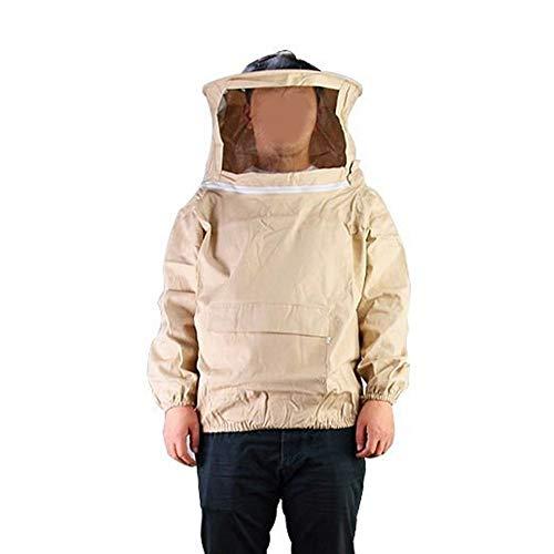 Professionista Apicoltura Alimentazione Ventilato Suit da Forest - Clear View Con Velo Cappuccio, Apicoltura Giacca Light Weight-professionale for principianti apicoltori e apicoltori commerciali .Per