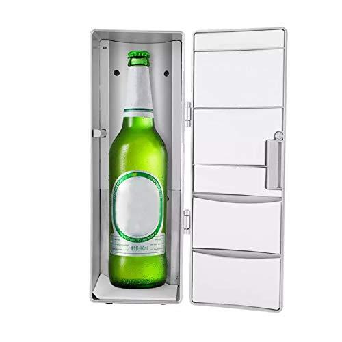 WZCXYX Frigorífico Mini USB Frigorífico Congelador Cans Beber Cerveza Más Enfriador Calentador Viaje Refrigerador Icebax Coche Oficina De Coche Portátil