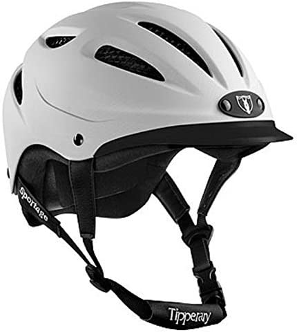 Tipperary Sportage 8500 Riding MD White Popular brand in the Max 61% OFF world Helmet
