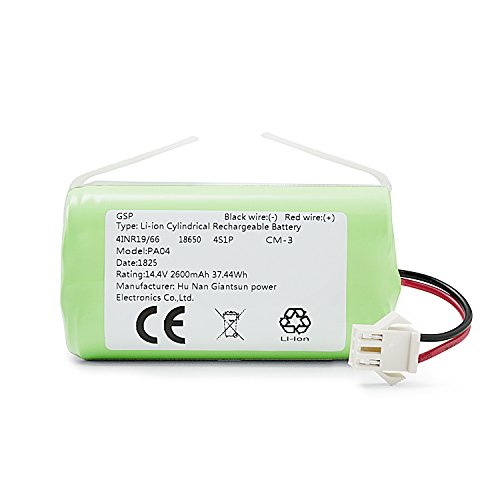 eufy RoboVac Replacement Battery Pack, Compatible with RoboVac 11S, 11S MAX, 15T, 30, 30C MAX, 15C, 15C MAX, 12, 35C Accessory
