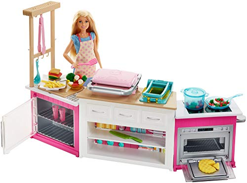 Ensemble de Cuisine Barbie Ultime - FRH73 - 0