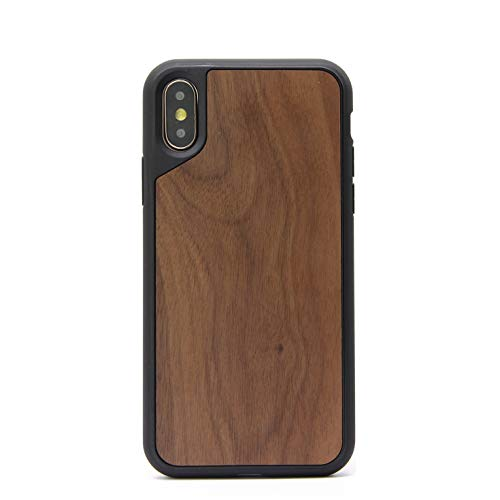 Lignum Case Cover Compatible Apple iPhone X Xs Funda de Madera Color...
