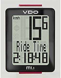 VDO M1.1 WL - Ciclocomputadores inalámbricos - Negro 2016