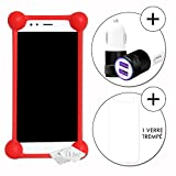 PH26 General Mobile GM 6 Shockproof Silicone Bumper Case
