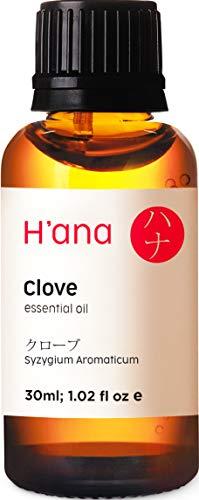 Ätherisches Nelken Öl (30ml) - 100% rein und zur therapeutischen Anwendung, zur Behandlung der...