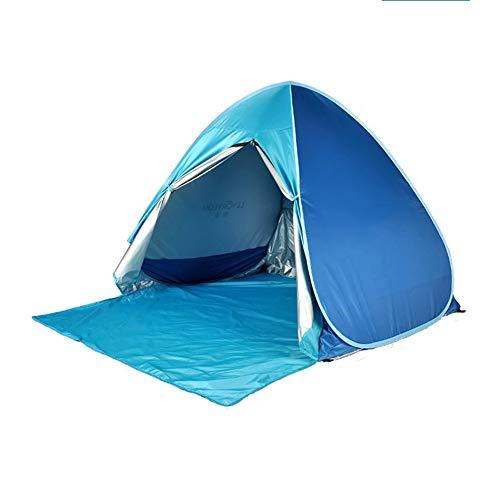 SAHWIN® Tienda Carpa Refugio De Playa,100% Proteccion Anti Rayos UV, Pop Up...
