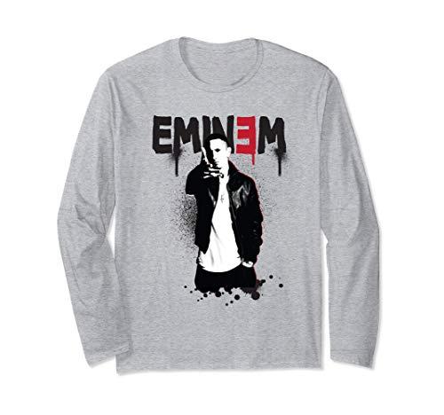 Eminem Official Sprayed Up Long Sleeve T-Shirt