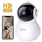 Lensoul Cámara IP WiFi, 1080P HD Cámara de Vigilancia...