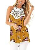 CNFIO - Camiseta de verano para mujer