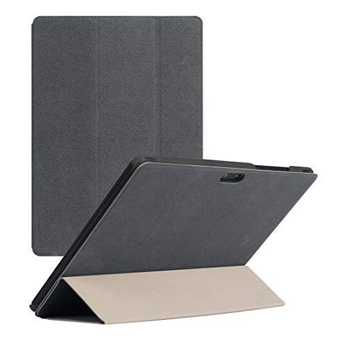 Ebogor para CHUWI Funda de Tableta Air Hi9, Flip Horizontal PU Funda Protectora de Cuero. Caja del teléfono Creativo (Color : Grey)
