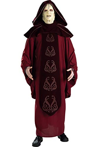 Rubie's Men's Star Wars Supreme Edition Adult Emperor Palpatine and Mask, Multicolor, Standard