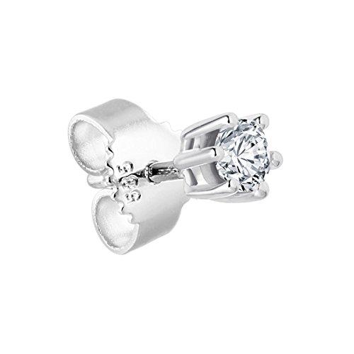 Diamond Line Diamond Line Herren - Ohrstecker 585er Gold 1 Diamant