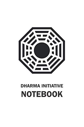 Dharma Initiative Notebook: A Blank, Lined Journal Inspired By The Lost Series (6'x9', 120 pages)