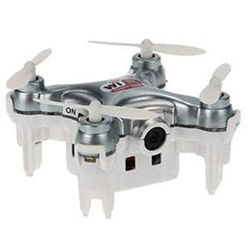 waysad Cheerson Cx-10 Mini Drone con Videocamera Live Video 2.4GHz 4CH 6 Assi WiFi FPV Quadrotor 3D Eversion Mini Drone con Telecamera 0.3MP RC Giocattoli Regali per Bambini Polite