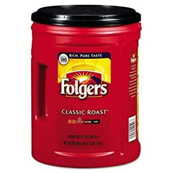 Folgers Classic Roast Ground Coffee  48 oz  Single Can