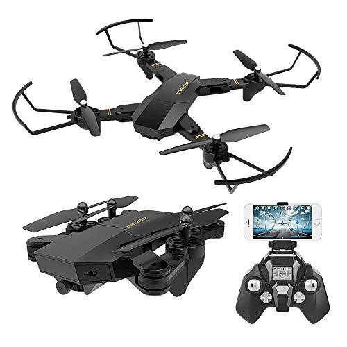 TOYEN RC Quadcopter mit 2,4 GHz 6-Achsen-Gyro-Höhenhaltefunktion und 720P HD 2MP-Kamera-Hubschrauber