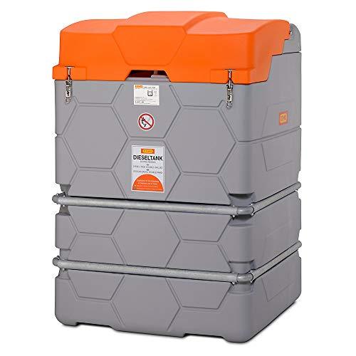 Cemo GmbH Dieseltankanlage Basic 2500l L1800xB1200xH1800mm m. Pumpe u. Zapfpistole
