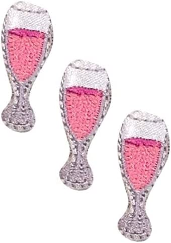 Mini New Weekly update products world's highest quality popular Champagne Applique Patch - Rosé 1