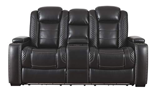 Signature Ashley Party Time Power Reclining Sofa 2