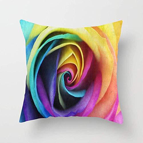Joli rose floral aquarelle rempli coussin chambres un canapé