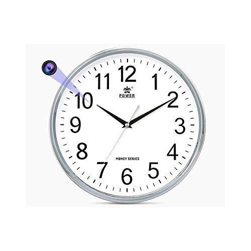 Slkon | Reloj cámara espía WiFi Full HD accesible a distancia mediante aplicación – Visión nocturna – Detección de movimiento