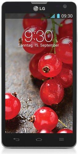 LG D605 Optimus L9II - Smartphone (11,9 cm (4,7''), pantalla táctil, procesador Dual-Core de 1,4 GHz, cámara de 8 Mpx, memoria interna de 4 GB, 1 GB de RAM, Android 4.1) (importado)