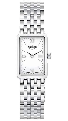 Bruno Söhnle Damen Analog Quarz Uhr mit Edelstahl Armband 17-13195-972