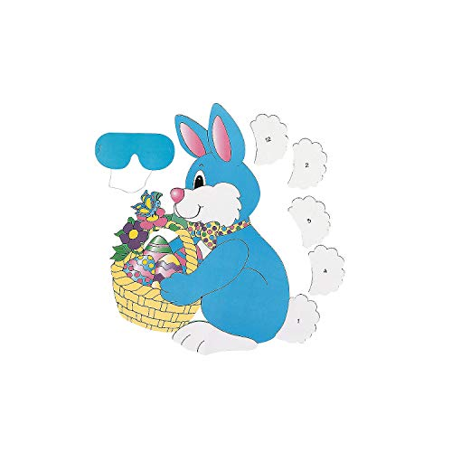 PIN the TAIL on the EASTER BUNNY/Spring PARTY GAME/Party ACTIVITY/New in Package w/INSTRUCTIONS/Blindfold