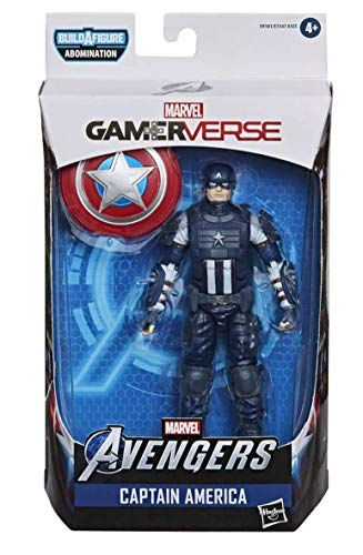 Marvel Legends Gamerverse Avengers Captain America 6 Inch Action Figure