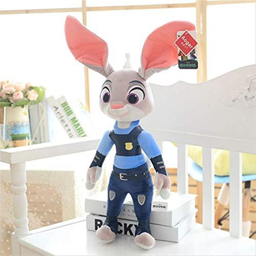 Simulatie dieren,Animal City Konijn Pop Vos Knuffel Pop Kindercadeau Voor Mannen En Vrouwen 30 cm a