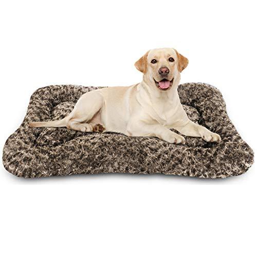 G.C Cama Perro Grande Antiestres Colchoneta Perro Lavable Relajante Cojín de Felpa Suave Cálido Colchón para Mascotas Manta para Perros y Gatos Mediano y Pequeño