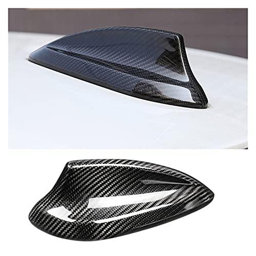 ZHUHUI YUYANGZHI Negro Antena Antena Cubierta DE AUDA DE LA Fina DE Ajuste Ajuste para BMW F34 F22 F23 F87 F30 F35 F80 F82 G11 G12 G30 F32 F33 F36 2018 2019 Molduras Decorativas