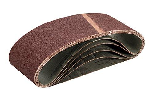 Triton TPTA12739072 Bandas de Lija, 0 V, Marrón, 75 x 533 mm, Set de 5 Piezas