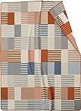 biederlack® weiche Kuschel-Decke Macaroon I Made in Germany I Bunte Wohndecke mit Karo Muster in 150x200 cm I Öko-Tex Made in Green I kuschelige Tagesdecke aus Baumwolle & dralon®