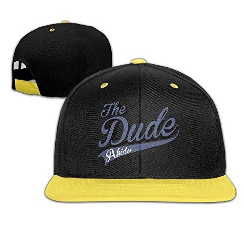 Big Girls\' The Dude Abides Flat Brim Baseball Snapback Cap