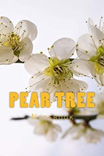 Pear Tree: 150 page lined notebook
