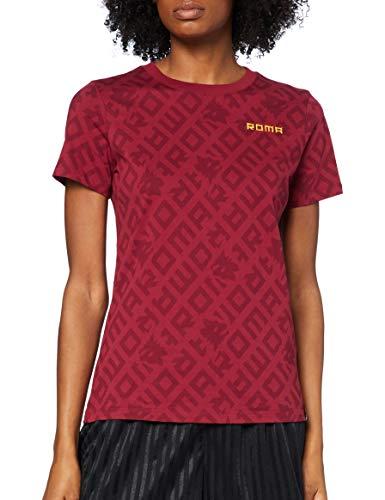 Nike Roma W Nk Tee Ignite T-Shirt, Donna, Team Crimson, M