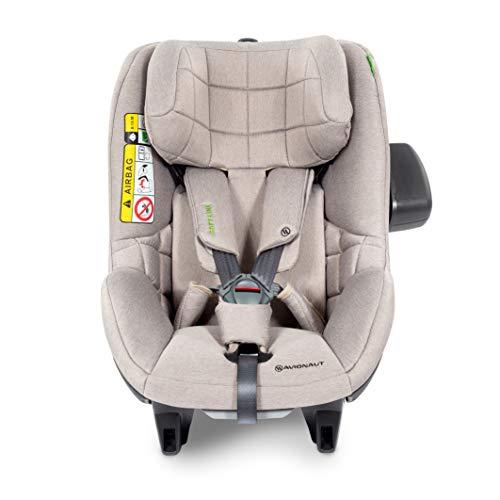 Silla de seguridad para niños AeroFIX Soft Line de Avionaut | grupo 1 (9kg-17.5kg, 67cm-105cm) | para niños de 6 meses a 4 años | Beige Melange
