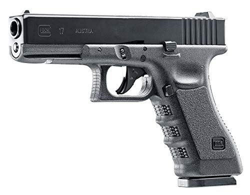 Umarex USA, Glock 17 Gen 3 Air Pistol.177 Caliber, 8 Rounds, Black