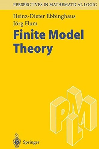 Finite Model Theory: First Edition (Perspectives in Mathematical Logic)