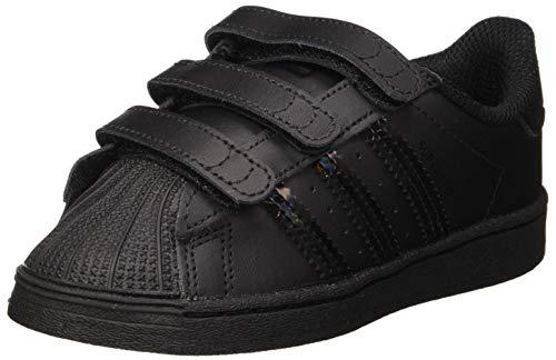 adidas Superstar CF I, Zapatillas de Gimnasio Unisex Niños, Core Black Core Black Core Black, 23.5 EU