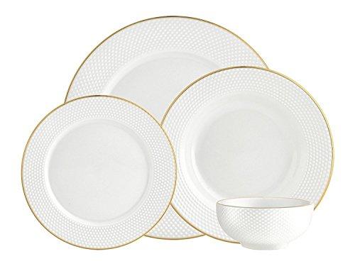 Godinger Silver Art Pique Gold 16pc Set