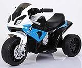 Trendsky Blau Kindermotorrad Elektromotorrad Kinderfahrzeug Motorrad Kinder Akku Dreirad Auto