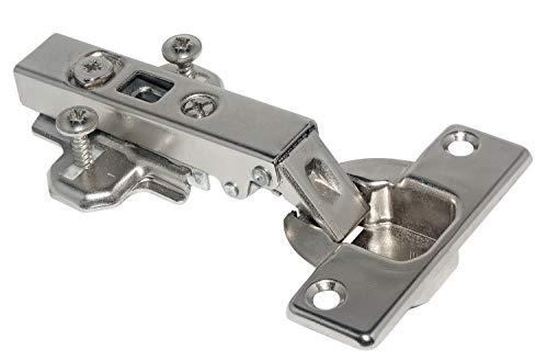HKB ®1 x Intermat Topfscharnier 110°, Clip-Technik, 0 mm Kröpfung, Topf-ø 35 mm, vorliegende Türen, 1 Stück, 62403