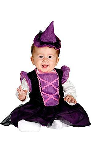 Déguisement de Sorcière Bébé (Taille 1 à 2 ans)