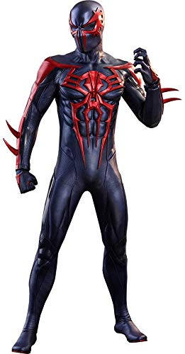 Spider-Man 2099 Black Suit Marvel's Spider-Man Video Game Masterpiece 1/6 Scale Hot Toys Exclusive Figure